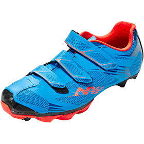 Northwave Scorpius 2 Shoes Men blue/lobster orange